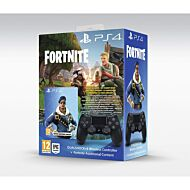 KONTROLER SONY BLACK V2 + FORTNITE VCH 2019 500VBUCKS