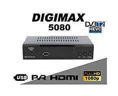 A/V PROGRAM RECEIVER DIGIMAX 5080 DVB-T2 HEVC 265